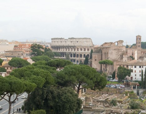 Picture of Colosseum in Rome