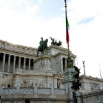 The Victor Emanuelle monument in Rome - Rome Map